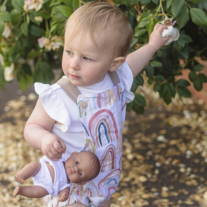 SoHo Rainbow Romper review: Little Cottons